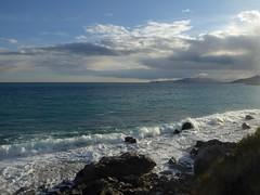 rasentando il sole (fotomie2009) Tags: sea mare varigotti finaleligure liguria ponente ligure costa coast seascape landscape paesaggio clouds nuvole coastal scape