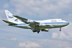 Boeing 747SP-21 - N747NA - HAJ - 15.05.2018(2) (Matthias Schichta) Tags: haj hannover hannoverlangenhagen eddv boeing nasa 747sp sofia plane planespotting flugzeugbilder flugzeug n747na
