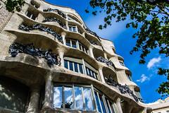 (Astrid77) Tags: barcelona catalunya catalonia katalonien astrid77 casamila lapedrera gaudi antonigaudí