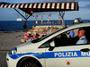 street photography #Palermo (flowerpopman) Tags: palermo police polizia beach bay mare streetphotography superiority fear admiration
