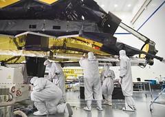 Webb's Thermal Blankets Tied Up With Strings (James Webb Space Telescope) Tags: jwst webb james space telescope nasa