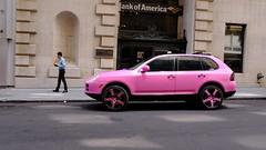 Not an ideal getaway car! (tvdflickr) Tags: audi pink suv georgia atlanta street