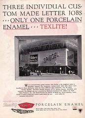 Sot Nov 51 SPIEGEL (hmdavid) Tags: vintage sign texlite porcelain ad advertisement signsofthetimes magazine 1950s midcentury roadside advertising