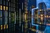 Smoking break (Norbert Clausen) Tags: architektur architekture mirror spiegelung thebluehour bluehour blaue stunde