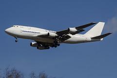 EW-465TQ Transaviaexport Cargo Airline Boeing 747-300(F) (natan_ivanov83) Tags: airplane spotting vko vnukovo uuww boeing boeing747 boeingcargo