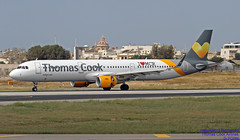 G-TCDM LMML 26-04-2018 (Burmarrad (Mark) Camenzuli Thank you for the 12.9) Tags: airline thomas cook airlines aircraft airbus a321211 registration gtcdm cn 7003 lmml 26042018