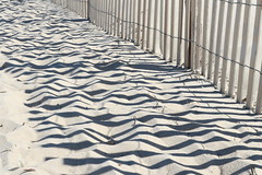 The shadows strip away (lotosleo) Tags: capehenlopenbeach delaware de beach landscape outdoor strips graphics lines shadow softshadowstripsway sussex lewes theshadowsstripaway