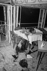 28 Jun 1965, Saigon, South Vietnam - Saigon: A Floating Nightmare. (doandung57) Tags: asia asianhistoricalevent battle historicevent horror northamericanhistoricalevent people restaurant southvietnam southeastasia unitedstateshistoricalevent vietnam vietnamwar19591975 vietnamesehistoricalevent war watercraft