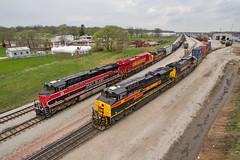 Silvis Yard (Trainboy03) Tags: iowa interstate iais 513 516 509 silvis illinois il