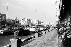 Azadi Street (mesutsuat) Tags: iran tehran pentax k1000 fujifilm acros 100 fuji blackwhite 35mm film analog negative middle east