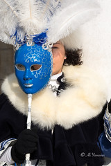 The Mask and the Face - Venice Carnival 2018 (Ali Yamaner) Tags: venice italy carnival 2018 mask clothes
