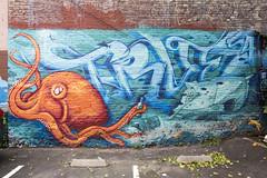 true (eb78) Tags: ca california graffiti streetart sf sanfrancisco financialdistrict true