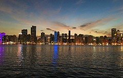 Sharjah skyline (Irina.yaNeya) Tags: sharjah uae emirates city urban sky skyline clouds sunset sea water ocean reflection buildings architecture iphone light eau cielo ciudad nubes puestadelsol mar agua reflejo edificio arquitectura luz waves olas الامارات الشارقة مدينة سماء غروب بحر ماء بناء فنمعماري ضوء шарджа оаэ эмираты город небо облака закат море вода отражение архитектура свет
