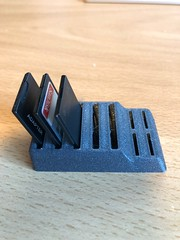 SD Card Holder (Mikey Moto) Tags: memory desk office