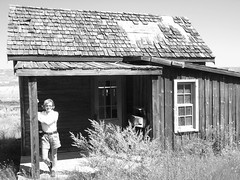 Home Sweet Home ..... (Mr. Happy Face - Peace :)) Tags: canadianbadlands historicatlascoalmine eastcouleewayne alberta canada pioneerdays old firsthome homestead oncewashome patricia bechthold bw 7dwf theme blackandwhite architecture dreamhome art2018 textures hww