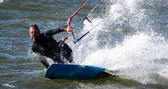 Kitesurfing (maytag97) Tags: maytag97 nikon d750 tamron 150600 150 600 oregon columbiariver columbia river splash outdoor water sport recreation sunlit sunlight action active course sail speed movement board sailboard airborne lake