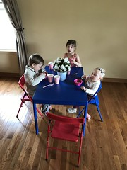 """Inde, Paul, and Dani at the Kid's Table • <a style=""""font-size:0.8em;"""" href=""""http://www.flickr.com/photos/109120354@N07/40388223830/"""" target=""""_blank"""">View on Flickr</a>"""