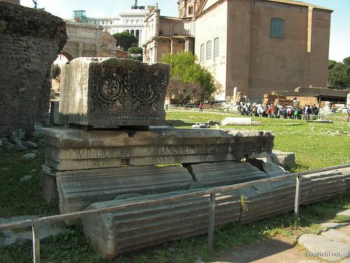 Римський форум, Рим, Італія InterNetri Italy 496