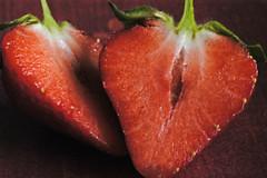 Erdbeeren (petra.wruck) Tags: erdbeere erdbeeren strawberries strawberry beere beeren berry berrys pflanzen pflanze plants obst fruit lebensmittel foodstuffs food foods groceries provisions viands himbeeren raspberries vitamine vitamins