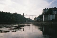Suspension Bridge (knautia) Tags: riveravon bristol england uk may 2018 film ishootfilm olympus xa2 fuji superia 400iso olympusxa2 nxa2roll13 river avon cliftonsuspensionbridge bridge myfavouritefromtheroll