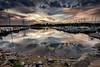 Port dusk (Petri Hollander) Tags: sunset finland espoo harbor boats