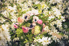 Sofie wedding bouquet (photoart33) Tags: bouquet flowers weddingbouquet bleedingheart anemone ferns ranunculus natural britishgrown clematis