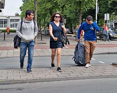 halfway through (digitri aka paz) Tags: street candid city people traffic crossing paz digitri