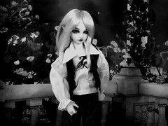 (claudine6677) Tags: bjd msd ball jointed doll asian dolls fairyland mnf minifee karsh elf puppe sammlerpuppen