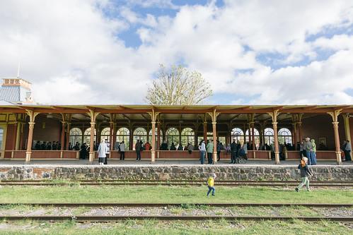 2016_Kaitseväe orkester_Haapsalu raudteejaam