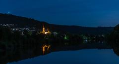 Moon Lit Night.... (kanaristm) Tags: neckargerach neckar river reflection night moon germany europe nikon d850 kanaris kanarist kanaristm tkanaris tmkanaris copyright2018tmkanaris copyright2018kanaristm