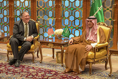 Secretary Pompeo Meets with Saudi Foreign Minister Adel al-Jubeir in Riyadh (U.S. Department of State) Tags: mikepompeo saudiarabia adelaljubeir riyadh
