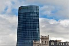 Torres de Bilbao (enrique1959 -) Tags: martesdenubes martes nubes nwn bilbao vizcaya paisvasco euskadi europa cielo
