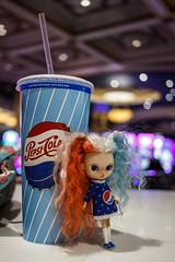 Pepsi Girl (hcorleybarto) Tags: lasvegas blythe blythecustom customblythe dollphotography