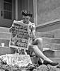 girl reading comics (Michael Vance1) Tags: girl comics comicbooks cartoonist comicstrip newspaper