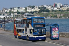 Seaside Sub (Better Living Through Chemistry37) Tags: route12 stagecoach stagecoachdevon stagecoachsouthwest transport transportation 18383 mx55krz alexanderdennis trident torquay torquayseafront buses busessouthwest busesuk psv publictransport