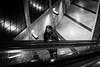 upstairs (Dilanou) Tags: people street story sw schwarz subway peoplebw underground stairway escalator cologne bw blackandwhite black bnw