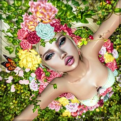 Lit de Fleurs ... (candynette.metaluna) Tags: irrisistible poema tentations