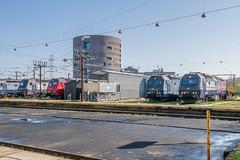 1527 1511 1515 1508 ME DSB Copenhagen Depot 28.04.18 (Paul David Smith (Widnes Road)) Tags: 1527 1511 1515 1508 me dsb copenhagen depot 280418
