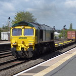 Leamington Spa Station -  Freightliner 66524 thumbnail