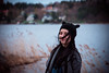 Bubsko (rwibring) Tags: scarf knit wool spring hat girl woman coat cold sea sweden stockholm nikon d7200 sigma 24105 portrait people