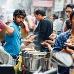 Busy Street Food Vendor, Delhi India thumbnail