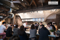 Part of the open kitchen (thewanderingeater) Tags: sundayinbrooklyn brunch williamsburg nyc brooklyn