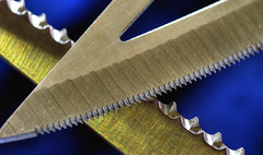 Macro Mondays - jagged (DeZ - photolores) Tags: macro macromondays jagged details design hdr hacksaw veggiknife nikon nikond610 tamron90mmf28 dez