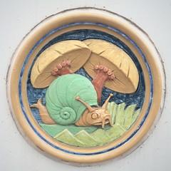 Children's hospital ceramic plaques. (Joseph Skompski) Tags: elizabethtownpa elizabethtown pennsylvania ceramic pottery plaques childrenshospital