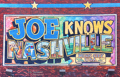 Joe Knows Nashville mural - Downtown Nashville, Tennessee (J.L. Ramsaur Photography) Tags: jlrphotography nikond7200 nikon d7200 photography photo nashvilletn middletennessee davidsoncounty tennessee 2018 engineerswithcameras musiccity photographyforgod thesouth southernphotography screamofthephotographer ibeauty jlramsaurphotography photograph pic nashville downtownnashville capitaloftennessee countrymusiccapital tennesseephotographer sobro joeknowsnashville musiccityusa joescrabshack mural painting photoopp sign signage it'sasign signssigns iloveoldsigns iseeasign signcity tennesseehdr hdr worldhdr hdraddicted bracketed photomatix hdrphotomatix hdrvillage hdrworlds hdrimaging hdrrighthererightnow colorful colors brick lights