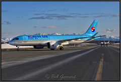 HL7201 Korean Air Lines (Bob Garrard) Tags: hl7201 korean air lines bombardier bd500 cseries cs300 everts cargo dc6 amc panc