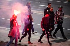 Op naar de Galgenwaars © Inge Hoogendoorn (ingehoogendoorn) Tags: utrecht fcutrecht vitesse europaleague voetbal streetphotography streetphoto