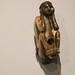 Native American pipe with human figure