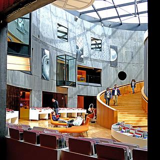 Le Havre - Bibliothèque Oscar Niemeyer