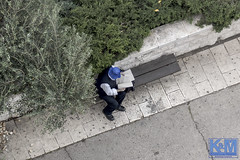 Jerusalem: The view from a room (Erwin van Maanen.) Tags: israel yerushalayim jerusalem יְרוּשָׁלַיִם jeruzalem middleeast streetphotography straatfotografie verhalendefotografie storytelling sonynex7 70years urban capitalsoftheworld documentaire documentary erwinvanmaanen kroonenvanmaanenfotografie
